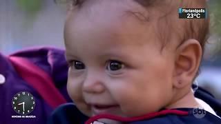 Inauguração da Creche em Paraisópolis - Reportagem SBT
