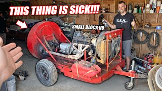 Resurrecting the Freedom Factory's V8 Powered 'REDNECK Leaf Blower 9000!!'