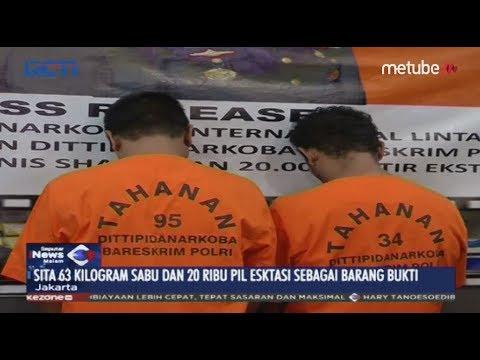 Dua Pengedar Jaringan Lintas Malaysia Ditangkap di Kepulauan Riau - SIM 18/06