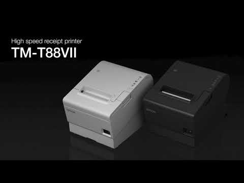 Epson TM-T88VII High-speed 80mm Thermal Receipt Printer video thumbnail