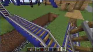 preview picture of video 'Ep. 4 - Construction suivie d'un parc d'attraction sur Minecraft'