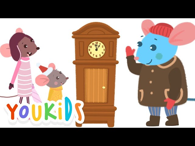 Hickory, Dickory, Dock. The Mouse Ran Up the Clock
