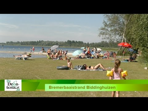 VIDEO | Iedereen is vol lof over Bremerbaaistrand bij Biddinghuizen
