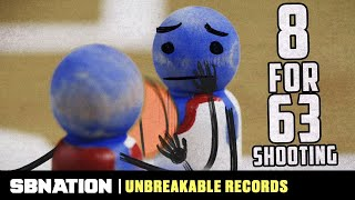 The fewest field goals in an NCAA tournament game ever | Unbreakable Records thumbnail