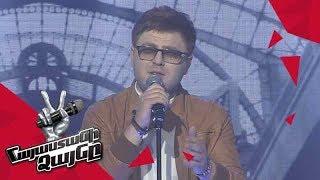 Hayk Ghulyan sings 'Помолимся за родителей' - Gala Concert – The Voice of Armenia – Season 4