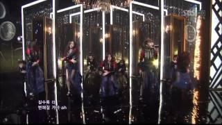 4minute [Volume Up] @SBS Inkigayo 인기가요 20120415