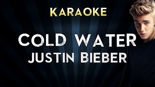 Major Lazer - Cold Water (feat. Justin Bieber & MØ) | Karaoke Instrumental Lyrics Cover Sing Along