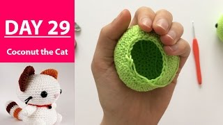 Completely Coconuts! || 100DaysOf10MinuteCrochet || Day 29