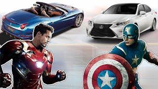 Железный Человек против Капитана Америки: У Кого Машины Круче?