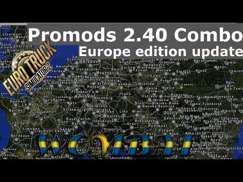 How to setup Promods+ RusMap+The Great steppe   :: Euro