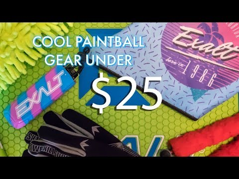 Cool Paintball Gear Under $25 – Summer 2018
