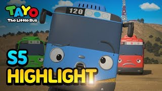 Tayo S5 EP15&16 Little buses trip to Hollywood l Tayo S5 Episode Highlight l Tayo the Little Bus