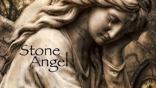 STONE ANGEL, relaxing piano music, haunting, peaceful music, ambient, angels, guardians,