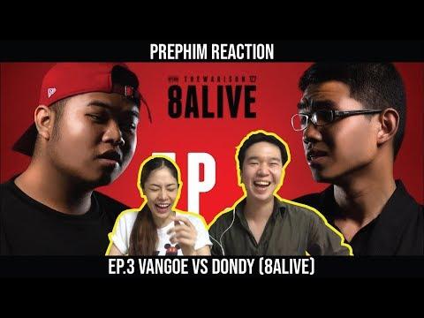 RAP IS NOW EP.3 VANGOE vs DONDY (8ALIVE) |【THAILAND RECAP/REVIEW/REACTION】