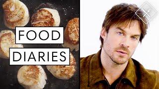 Everything Ian Somerhalder Eats in a Day | Food Diaries: Bite Size | Harper's BAZAAR