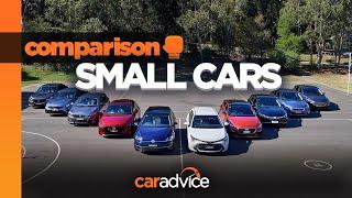 2019 Small Car Comparo Review: Mazda3, Corolla, Golf, Focus, I30, Cerato, Civic, Astra, 308, Impreza