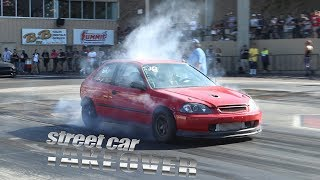 Great Day Of Racing at Steet Car Takeover 2018!