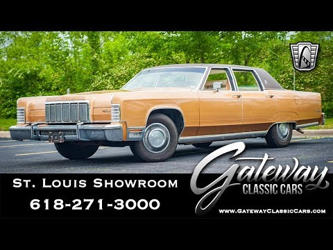 Video of '76 Continental - QB95