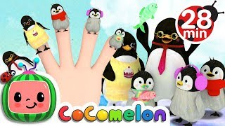 Finger Family Songs | Cocomelon (ABCkidTV) Nursery Rhymes & Kids Songs