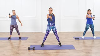 30-Minute Cardio and Strength-Training Workout For a Mood Boost