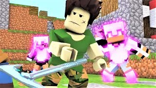 "NEW Minecraft Song ""Minecraft VS Roblox Battlefield"" Minecraft and Roblox Music Video Series"