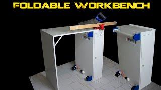 Tavolo Da Lavoro Roubo : Banco da lavoro pieghevole fai da te folding workbench Самые