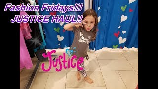 Back To School Justice Haul||Justice Clothing Haul||Fashion Fridays