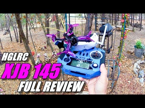HGLRC XJB 145 Micro FPV Race Drone Review – Unboxing, Flight / CRASH Test!, Pros & Cons