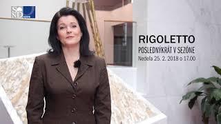 Ľubica Vargicová pozýva | RIGOLETTO