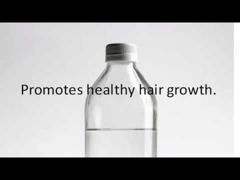 Video White Vinegar Treats Damaged Hair