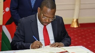 Sonko hands over Nairobi City Management | Hot Topics