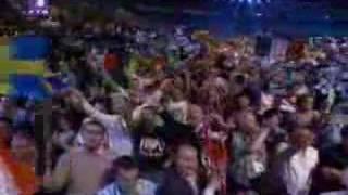 Eurosong 2007 - Proglasenje Pobednika