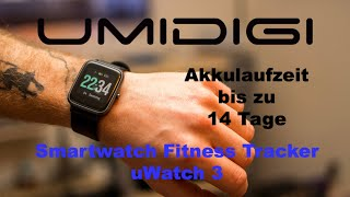 UMIDIGI Smartwatch Fitness Tracker Uwatch 3 | Deutsch