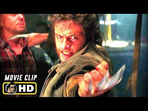 X-MEN (2000) Claws Out [HD] First Wolverine Scene