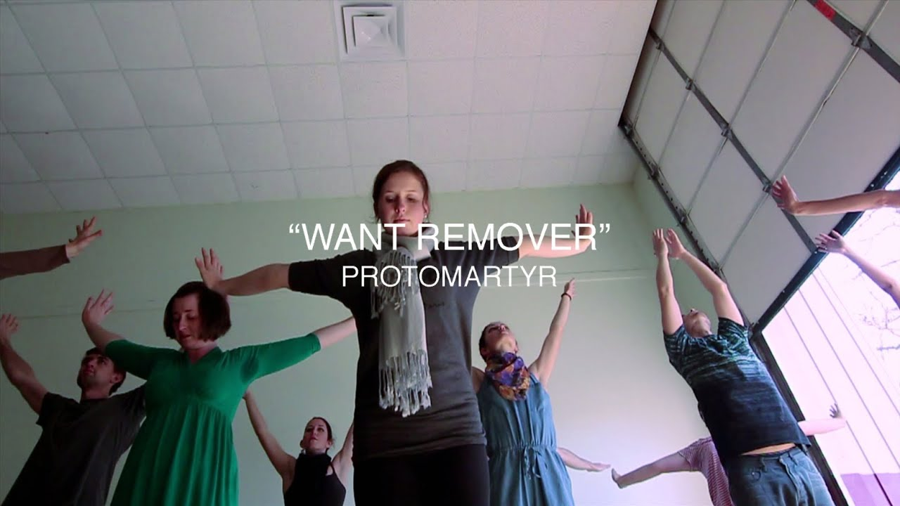 """protomartyr  -  """"Want Remover"""" (Video)"""