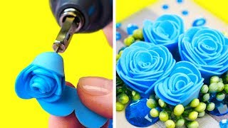 40 DIY FLOWERS IDEAS