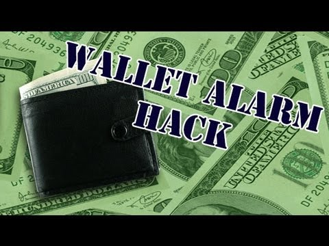 Hack Together Your Own Wallet Alarm To Thwart Pickpockets