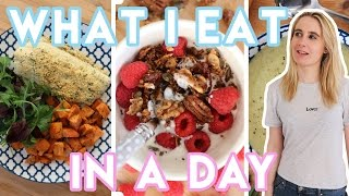 WHAT I EAT IN A DAY (Gluten free recipes, Low FODMAP, Dairy Free)