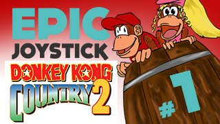 preview picture of video 'Donkey Kong Country 2 - Partie 1 - À la demande Générale!'