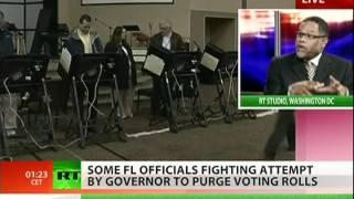 Florida purges the Democratic vote?