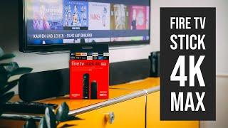 Amazon Fire TV Stick 4K MAX - installieren und einrichten