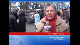 Christmas and Maydan, Kiev, 2013 on TV Channel TBN-Russia