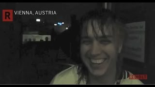 "Julian Casablancas and Warren Fu on ""Human Sadness"" video - June 2015, Vienna, Austria, Revolt.tv"