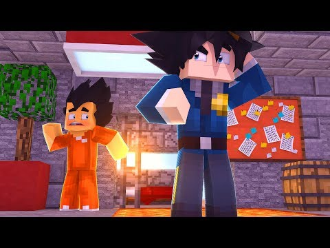 GOKU Y VEGETA SON PRESOS (MINECRAFT PRISON ESCAPE)