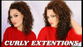 HOW I INSTALL & STYLE MY CURLY HAIR EXTENSIONS   The Glam Belle