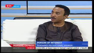 Uplcose and personal with renowned motivational speaker Dr. David Malapo