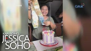 Kapuso Mo, Jessica Soho: Tumataginting Na Salapi Sa Birthday Cake Ni Lola