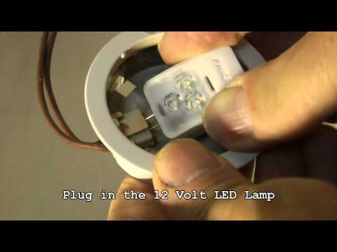 Save energy with LED, how to replace halogen G4 lamps by LED G4 in existing downlights