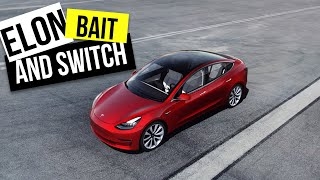 Is Elon Musk the worlds best salesman at Bait and Switch?