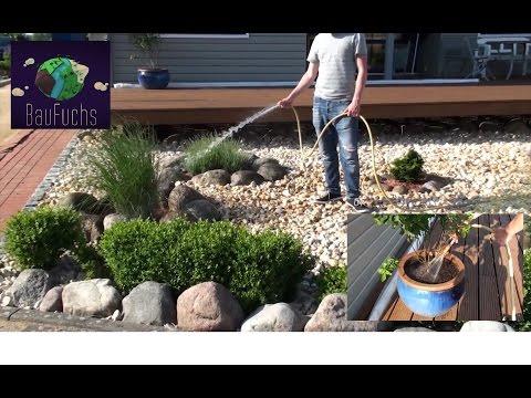 Hauswasserwerk und Ringleitung Regenwasser Zisterne - Bequem und Günstig Garten bewässern
